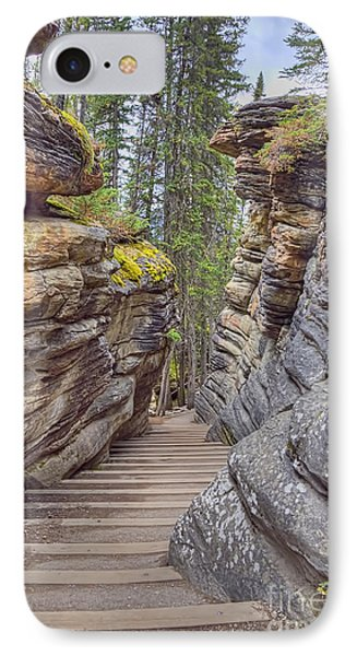 IPhone Case featuring the photograph Between The Stones by Wanda Krack