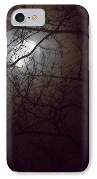 Beware The Rougarou Moon Phone Case by John Glass
