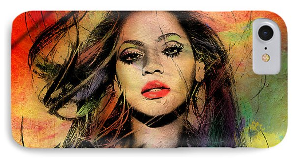 Beyonce IPhone Case by Mark Ashkenazi