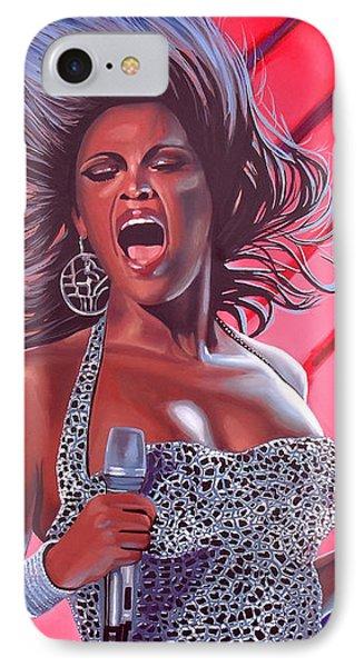 Musician iPhone 7 Case - Beyonce by Paul Meijering