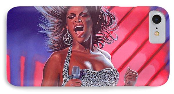 Beyonce IPhone 7 Case by Paul Meijering