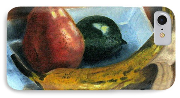 IPhone Case featuring the painting Beyond Banana Nut Bread by LaVonne Hand