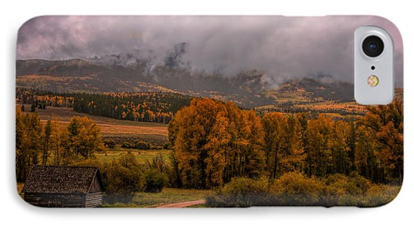 IPhone Case featuring the photograph Beyond The Road by Ken Smith