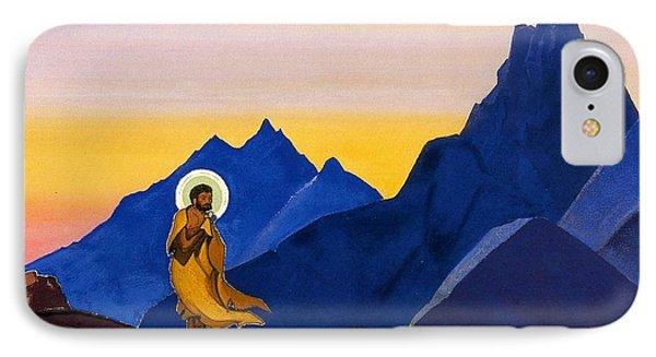 Bhagavan IPhone Case by Nicholas Roerich