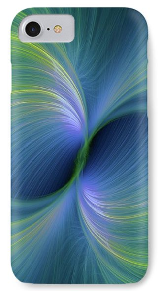 Bi Polar Or Supersymmetry Concept IPhone Case by David Parker