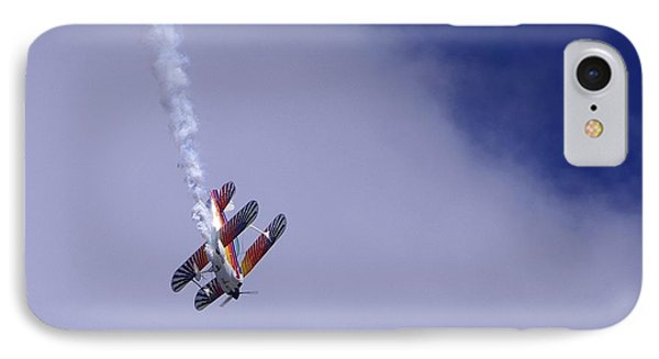 IPhone Case featuring the photograph Bi Wing Stunt Plane by Don Youngclaus