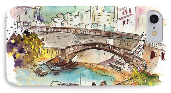 Biarritz 15 IPhone Case by Miki De Goodaboom