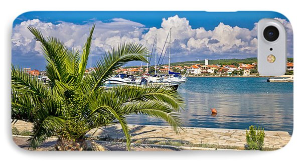 Bibinje Village In Dalmatia Waterfront View IPhone Case by Brch Photography