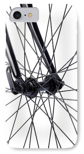 Bicycle Wheel Spokes IPhone Case by Science Photo Library