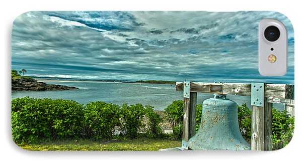 Biddeford Pool Bell IPhone Case by Brenda Jacobs