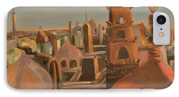 IPhone Case featuring the painting Bienvenue Au Caire by Julie Todd-Cundiff