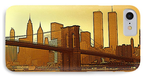 Big Apple Sunrise - New York City IPhone Case