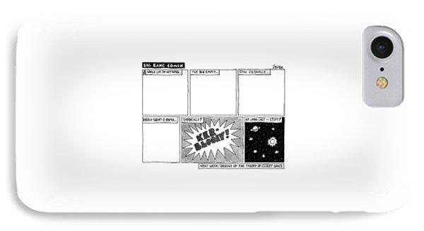 Big Bang Comix IPhone Case by Jack Ziegler