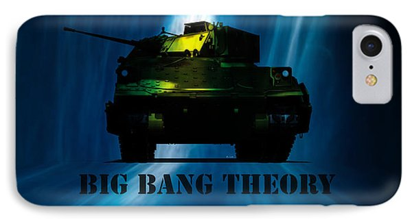 Big Bang Theory IPhone Case by Bob Orsillo