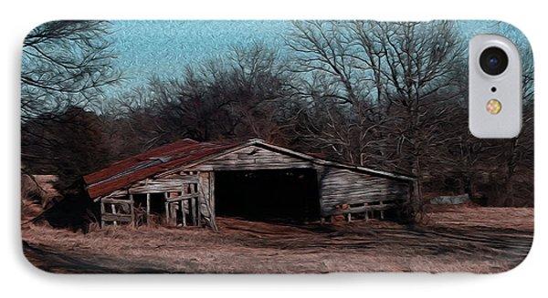 Big Barn Theory Phone Case by R McLellan