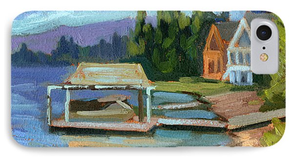 Big Bear Lake South Shore 2 IPhone Case by Diane McClary