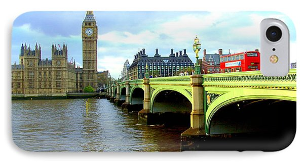 Big Ben And River Thames IPhone Case