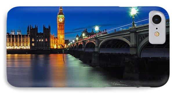 Big Ben And Westminster Bridge IPhone Case