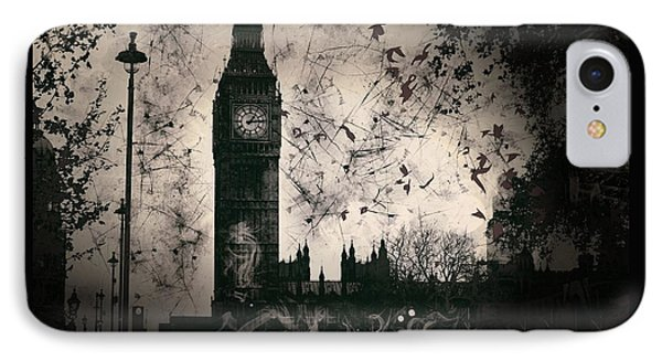 Big Ben Black And White IPhone Case