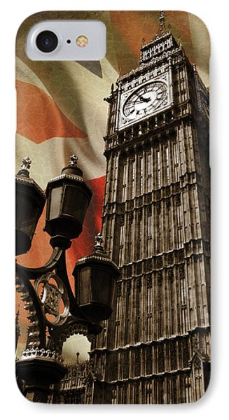 Big Ben London IPhone 7 Case by Mark Rogan