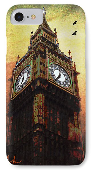 IPhone Case featuring the photograph Big Ben by Michael Rucker
