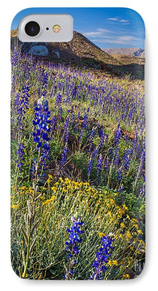 Big Bend Flower Meadow IPhone Case by Inge Johnsson