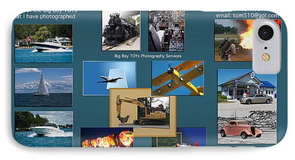 Big Boy Toys Photography Services Phone Case by Thomas Woolworth