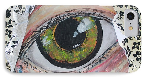 IPhone Case featuring the painting Big Brother by Lucy Matta