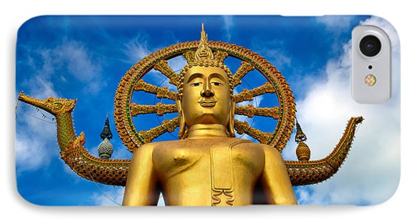 Big Buddha IPhone Case by Adrian Evans