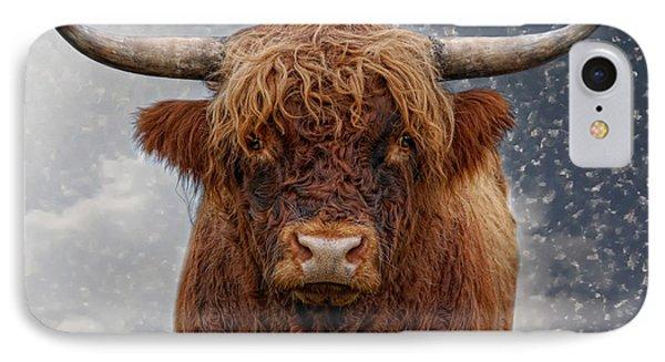 Big Bull IPhone Case by Joachim G Pinkawa