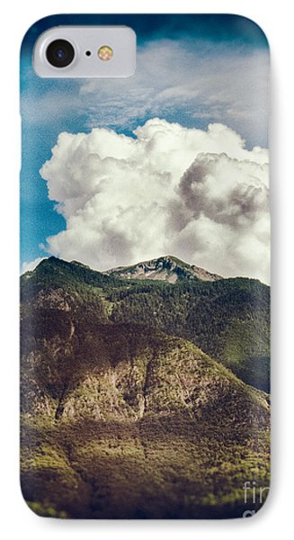 Big Clouds Over The Alps IPhone Case