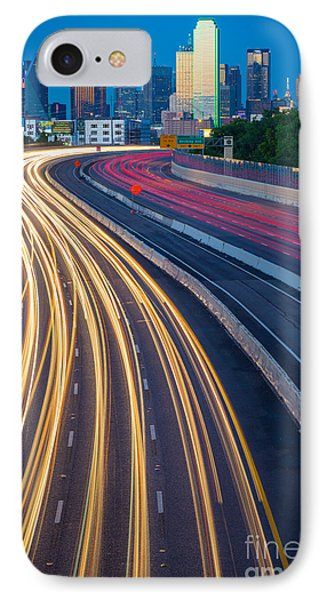 Big D Freeway IPhone Case by Inge Johnsson