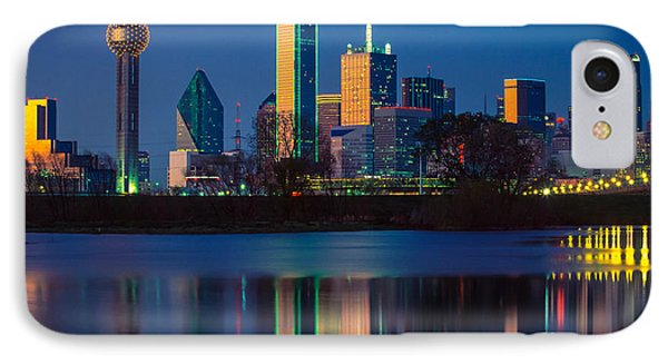 Big D Reflection IPhone 7 Case by Inge Johnsson