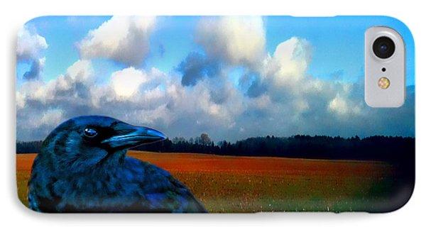 Big Daddy Crow Series Silent Watcher IPhone Case