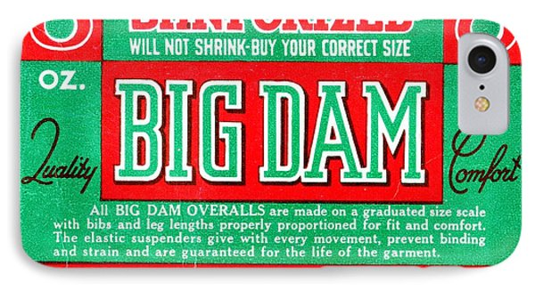 Big Dam Quality IPhone Case by Jame Hayes