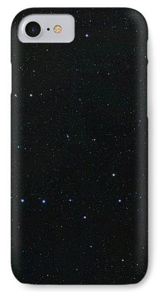 Big Dipper And Ursa Minor Constellation IPhone Case by Eckhard Slawik
