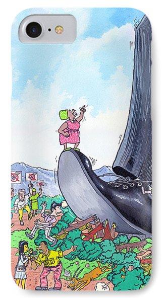 Big Foot IPhone Case