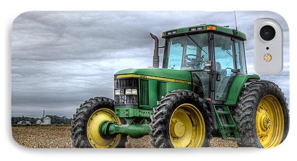 Big Green Tractor Phone Case by Robert Jones