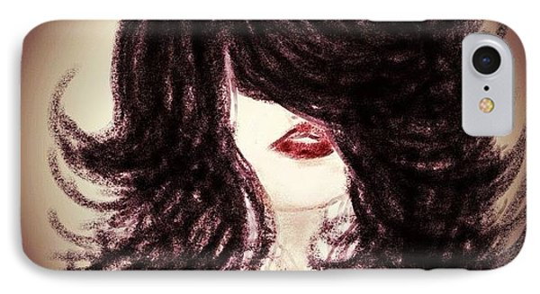 Big Hair Rocks Phone Case by Go Inspire Beauty
