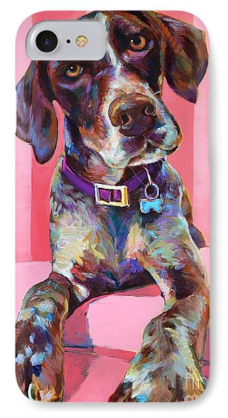 IPhone Case featuring the painting Big Hank by Robert Phelps
