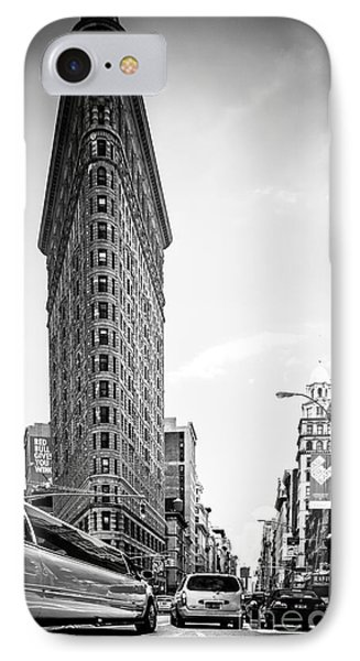 Big In The Big Apple - Bw IPhone Case