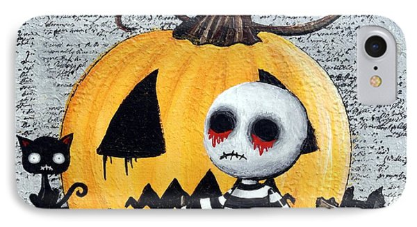 Big Juicy Tears Of Blood And Pain No. 11 The Great Pumpkin IPhone Case