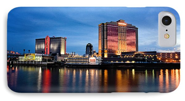 Big Night On The River IPhone Case