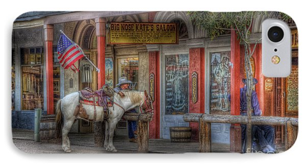 Big Nose Kate IPhone Case by Sharon Seaward