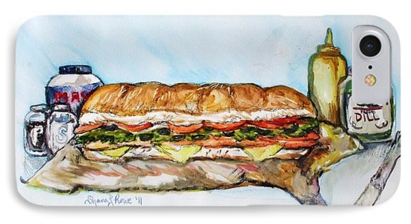 Big Ol Samich IPhone Case by Shana Rowe Jackson