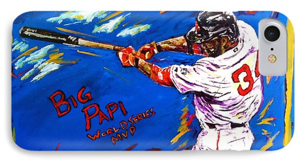 Big Papi IPhone Case by Ian Sikes