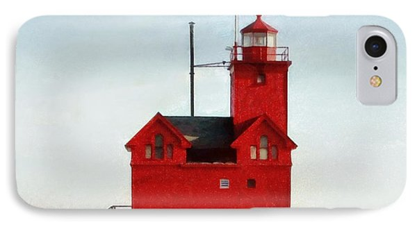Big Red IPhone Case by Michelle Calkins