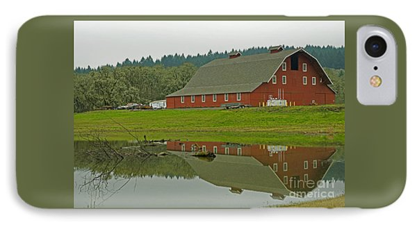 IPhone Case featuring the photograph Big Red by Nick  Boren