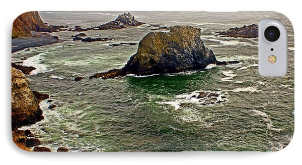 Big Rock Beach Phone Case by Marty Koch