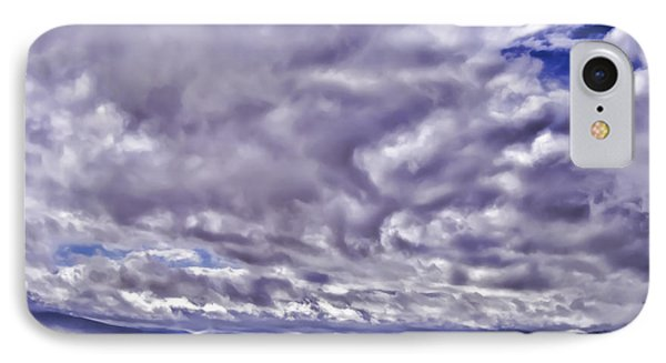 IPhone Case featuring the photograph Big Spanish Sky by Don Schwartz